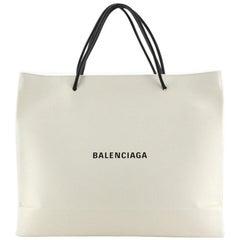 Balenciaga Horizontal Shopping Tote Leather Medium