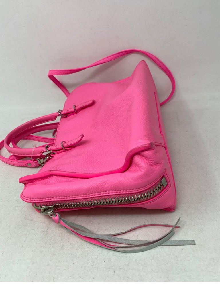 Balenciaga Hot Pink Mini Motorcyle Bag  For Sale 6