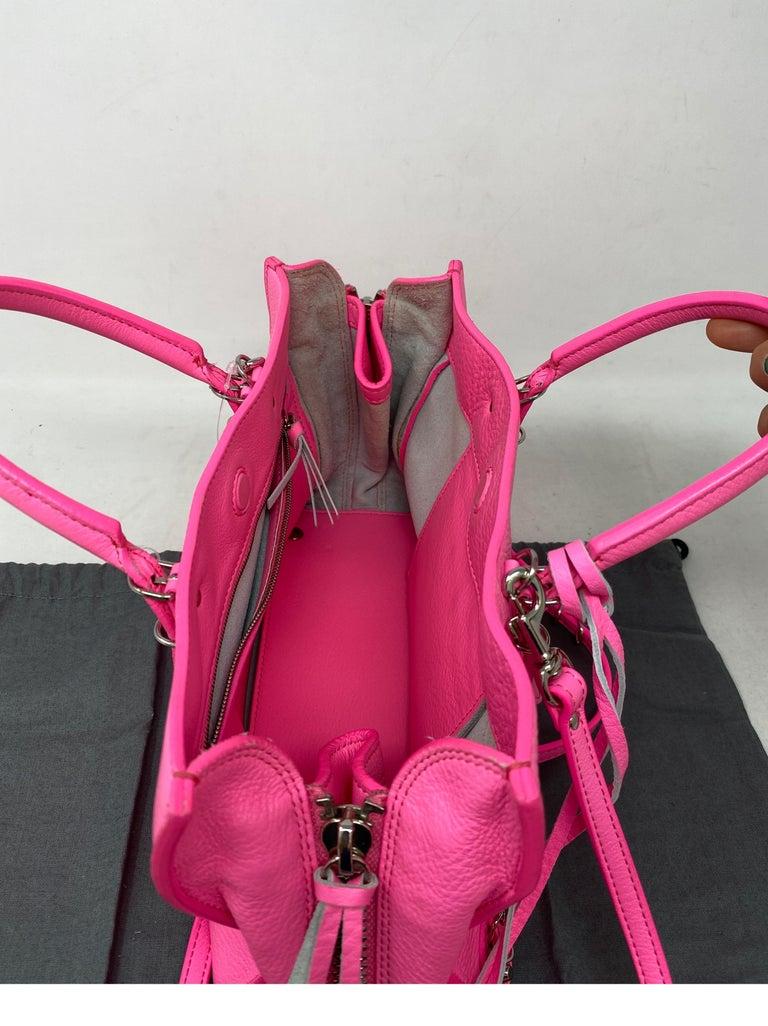 Balenciaga Hot Pink Mini Motorcyle Bag  For Sale 12