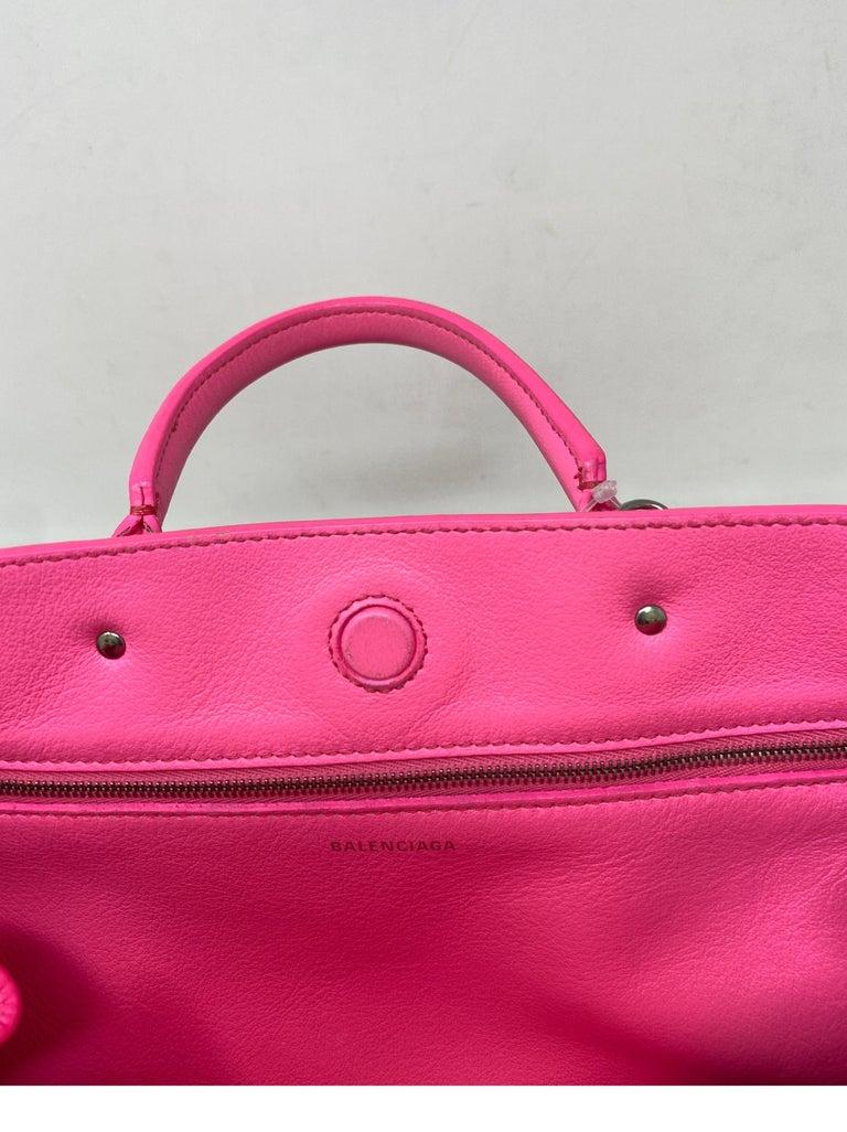 Balenciaga Hot Pink Mini Motorcyle Bag  For Sale 13