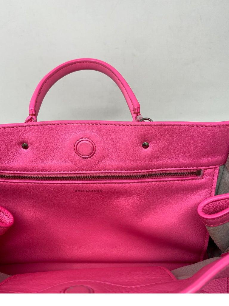 Balenciaga Hot Pink Mini Motorcyle Bag  For Sale 14