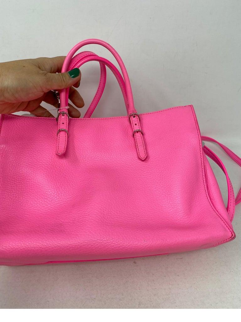 Balenciaga Hot Pink Mini Motorcyle Bag  For Sale 3