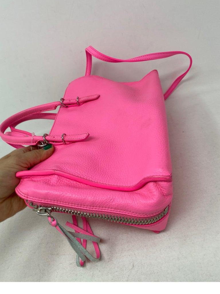 Balenciaga Hot Pink Mini Motorcyle Bag  For Sale 4