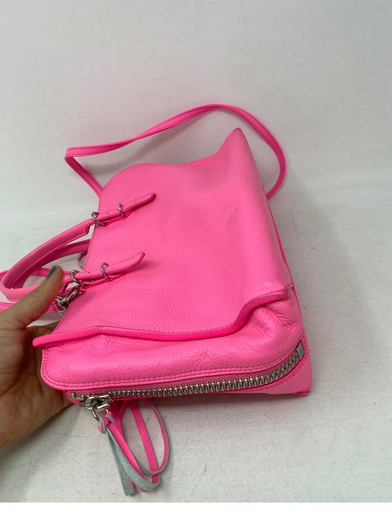 Balenciaga Hot Pink Mini Motorcyle Bag  For Sale 5