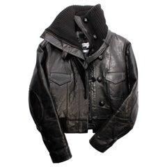 Balenciaga Jack - black leather