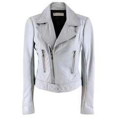 Balenciaga Lambskin Leather Jacket - Size US 8