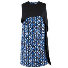 Balenciaga Layered Neoprene Dress - Size US 4