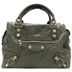 Balenciaga Leather Giant Stud 21 Bag