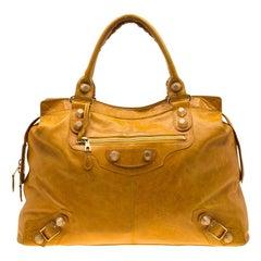 Balenciaga Mangue Leather Giant 21 Gold Hardware RTT Bag