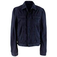 Balenciaga Men's Navy Jacket - Size S EU 46