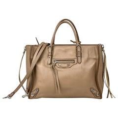 Balenciaga Mini Papier A6 Zip Around Bag