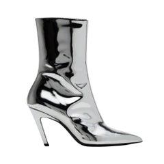 Balenciaga Mirrored Stiletto Ankle Bootie (40 EU) 482095