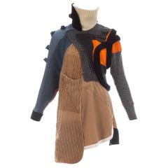 Balenciaga mixed media sports dress, ca. 2002