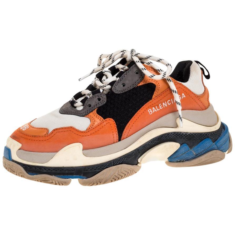 balenciaga multicolor sneakers