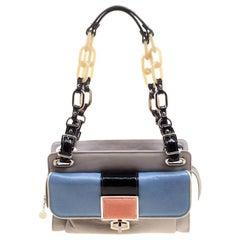 Balenciaga Multicolor Leather Cherche Midi Shoulder Bag