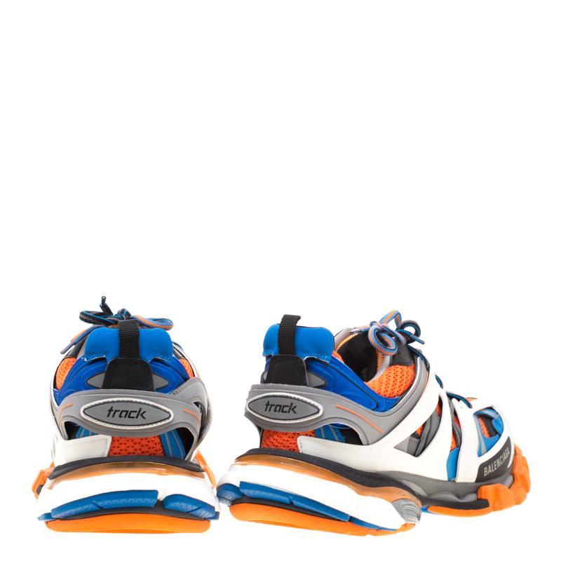 BALENCIAGA Tagged Balenciaga track sneakers