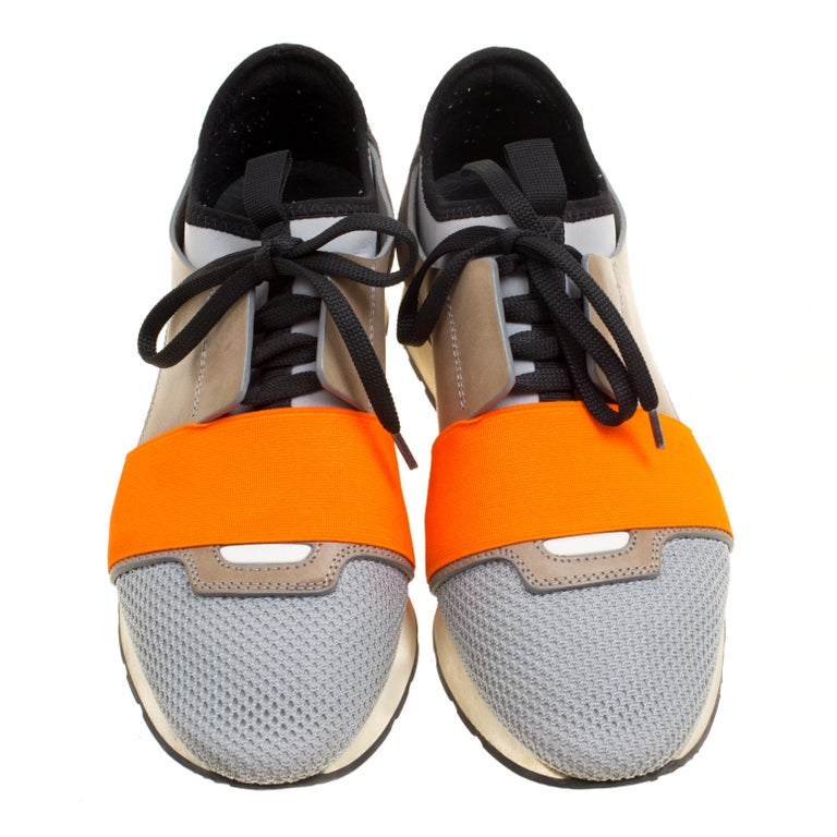 9f81d571e5e Let your latest shoe addition be this pair of Race Runners sneakers from  Balenciaga. These