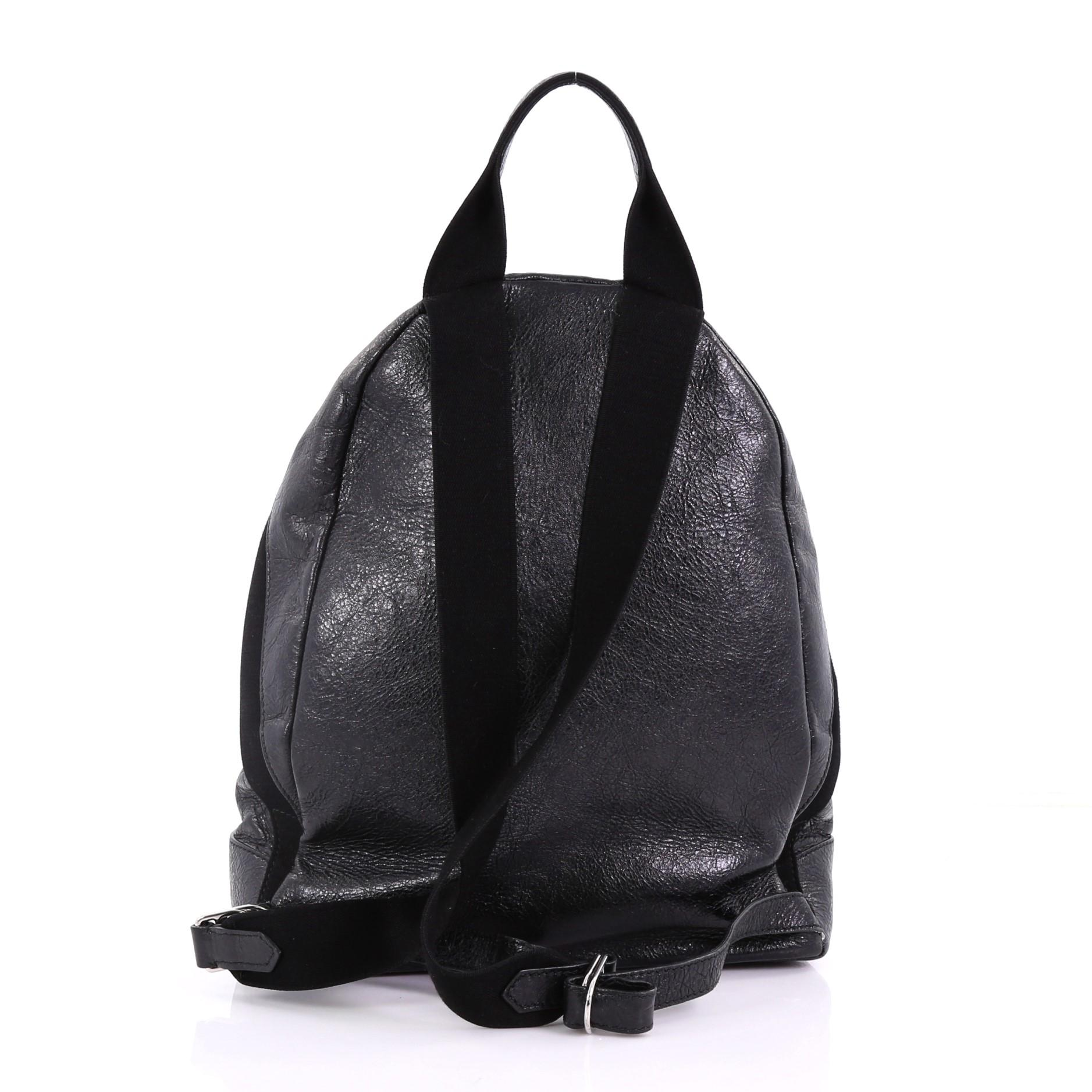 fdd05a405 Balenciaga Navy Backpack Leather at 1stdibs