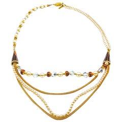 BALENCIAGA Necklace Vintage 1970s