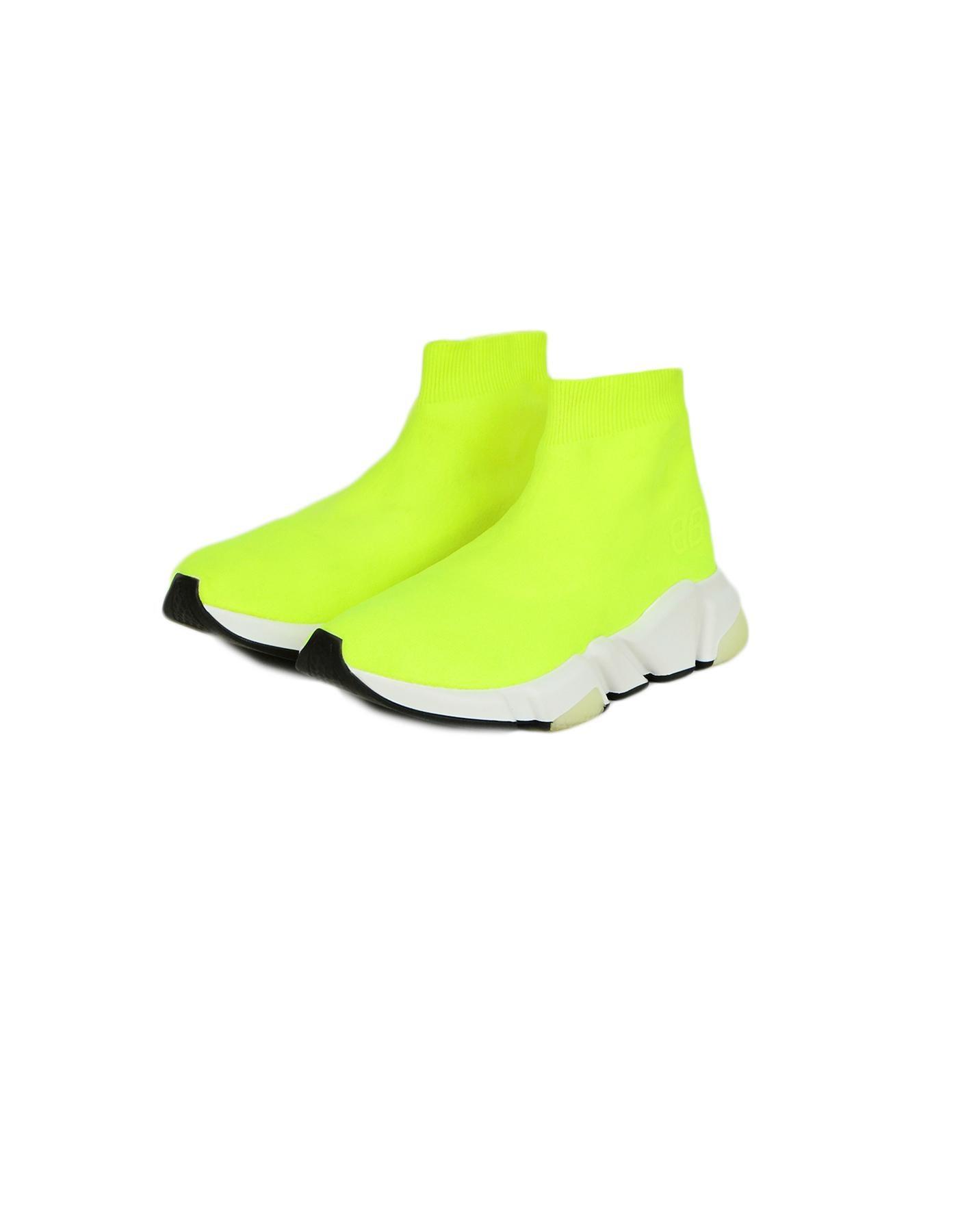 balenciaga neon yellow