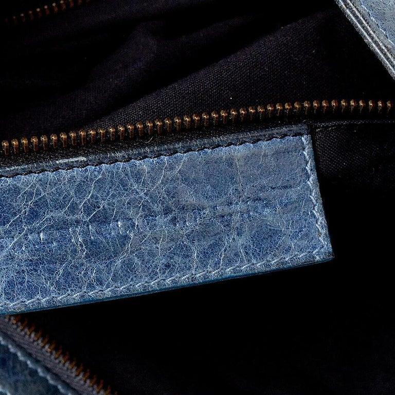 Balenciaga Ocean Leather RH Flat Messenger Bag 3