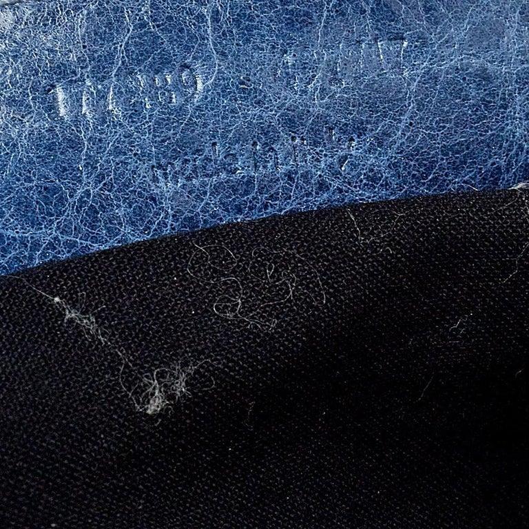 Balenciaga Ocean Leather RH Flat Messenger Bag 4