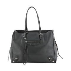 Balenciaga Papier B4 Zip Around Classic Studs Bag Leather