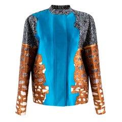 Balenciaga Paris Abstract multi Print Jacket S