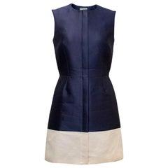 Balenciaga Paris Blue A-line Dress FR 38