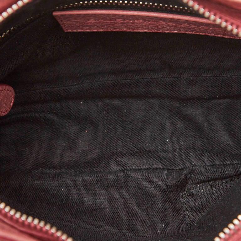 Balenciaga Pink  Leather Motocross Giant 12 Hip Bag Italy w/ Dust Bag 1