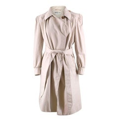 Balenciaga Puff-sleeve Asymmetric Coat US 8