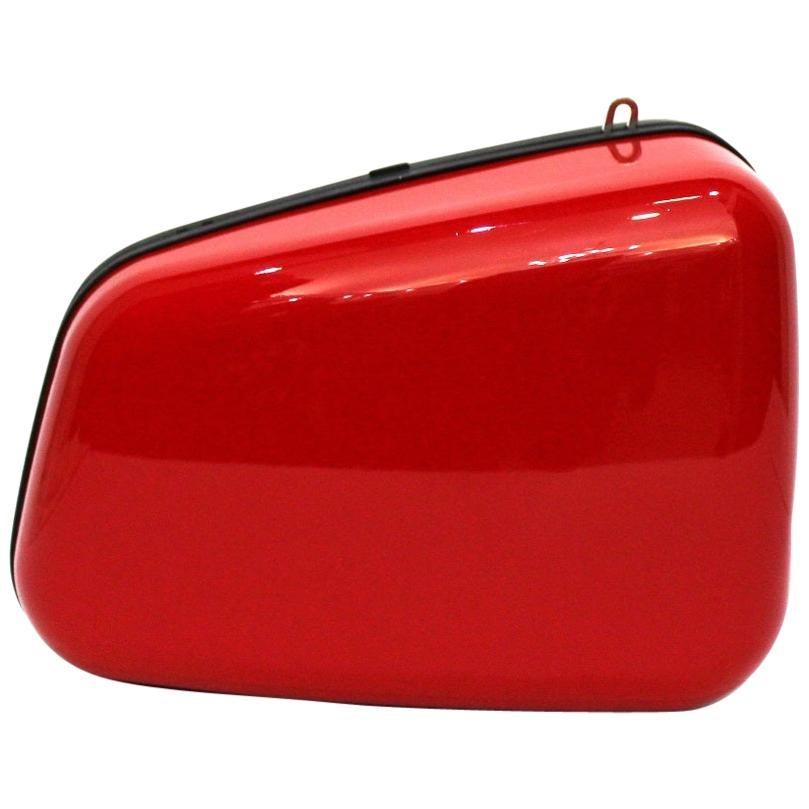 Balenciaga Red Rear-View Mirror Bag