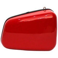 Balenciaga Red Rear-View Mirror Bag