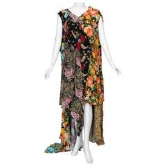Balenciaga Runway Floral Print Gown Look #30, Fall 2016