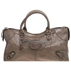 Balenciaga Sandstone Leather Part Time Tote