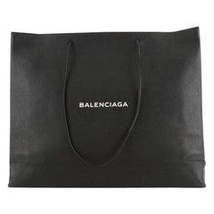 Balenciaga Shopping Tote Leather East West