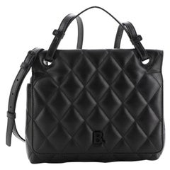 Balenciaga Shoulder Bag Quilted Leather Medium