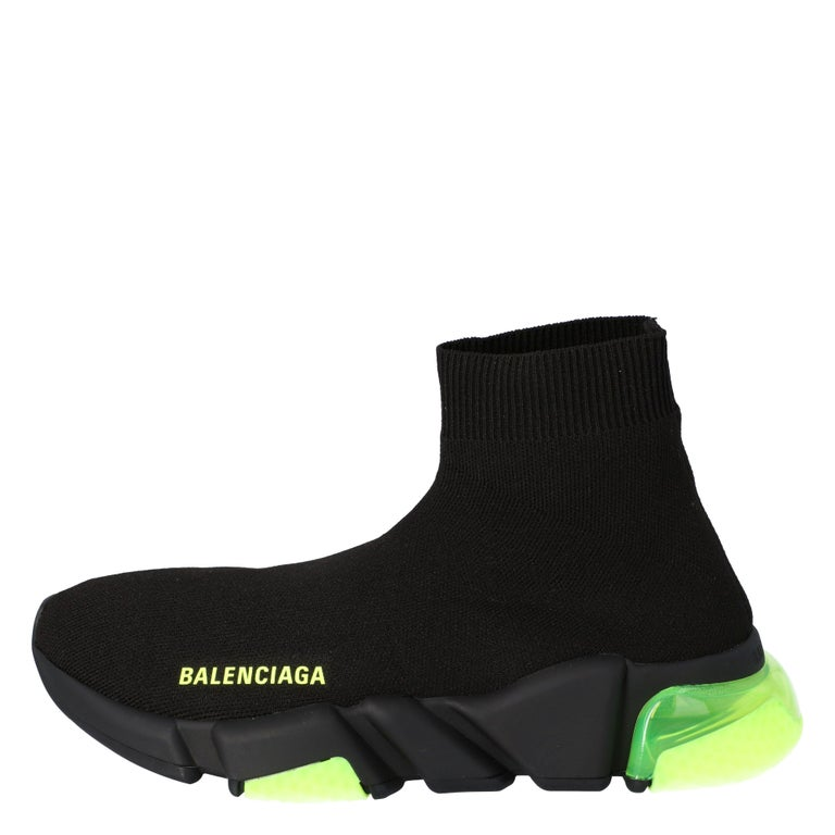 Celebrating the fusion of sports and luxury fashion, these Balenciaga Speed sneakers are absolutely worth the splurge. They are laceless and so well-crafted with breathable knit fabric in a sock style. Fully equipped to give you the best experience,