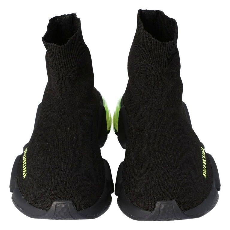 Black Balenciaga Speed Sock Clearsole Size EU 39 For Sale