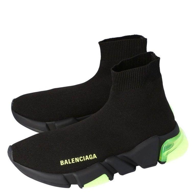 Black Balenciaga Speed Sock Clearsole Size EU 40 For Sale