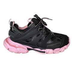 Balenciaga Track Low Top Black/Pink Sneakers (7 US)