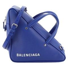 Balenciaga Triangle Duffle Bag Leather Medium