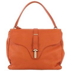 Balenciaga Tube Square Bag Leather Small
