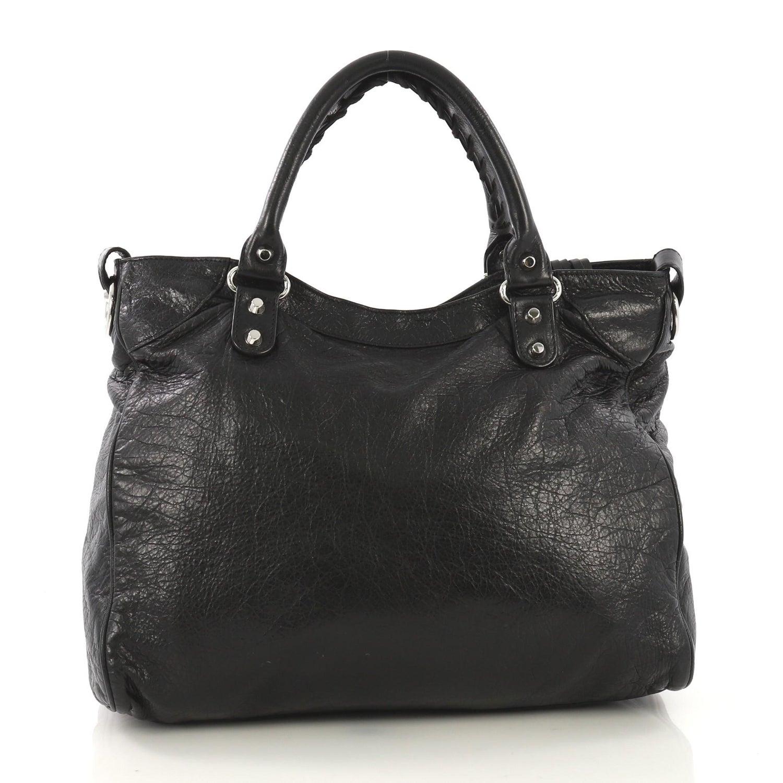 0dbf138e27 Balenciaga Velo Classic Studs Bag Leather Medium For Sale at 1stdibs