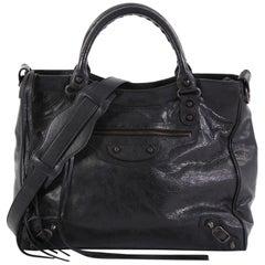Balenciaga Velo Classic Studs Bag Leather Medium