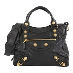 Balenciaga Velo Giant Studs Bag Leather