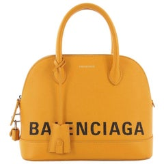 Balenciaga Ville Logo Bag Leather Small