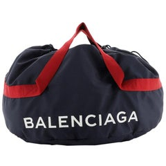 Balenciaga Wheel Duffle Bag Nylon Small