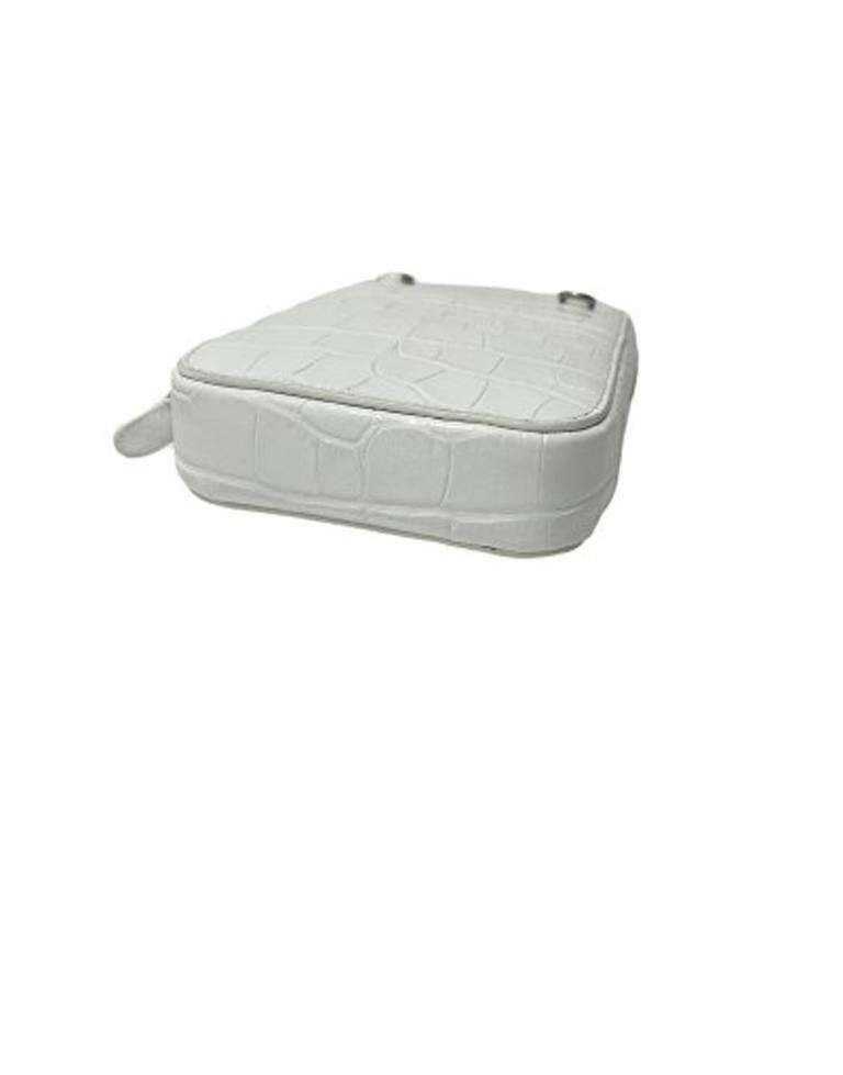 Balenciaga White Leather Mini Shoulder Bag For Sale 1
