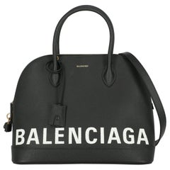 Balenciaga Woman Handbag Black Leather